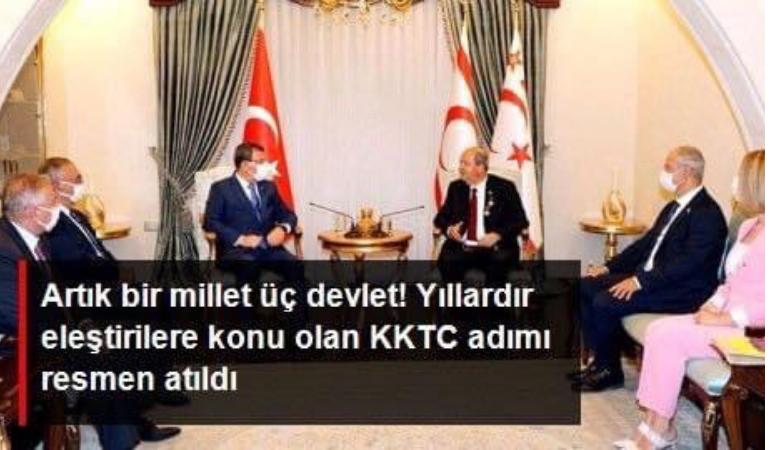 Azerbaycan Milli Meclisi'nden bir heyet ilk kez KKTC'de resmi temaslarda bulundu