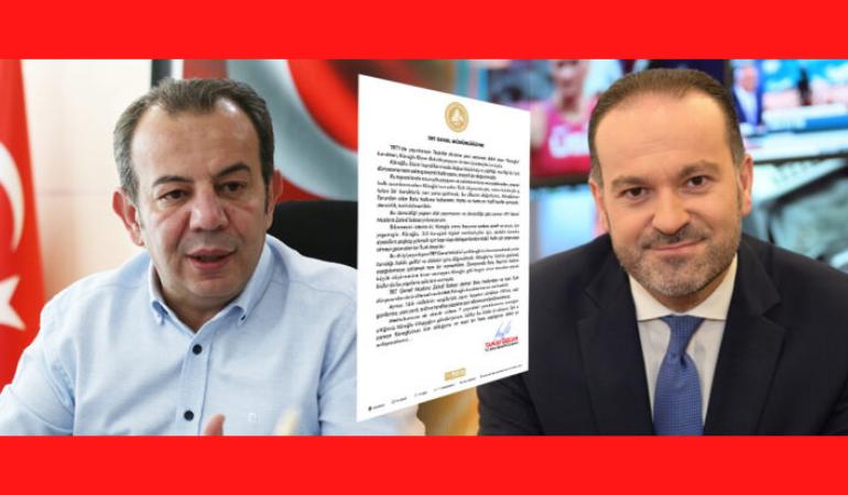Başkan Özcan'dan TRT Genel Müdürü'ne 'Köroğlu' tepkisi