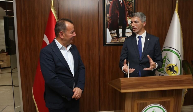 Başkan Özcan, Kosova Büyükelçisi'ni misafir etti