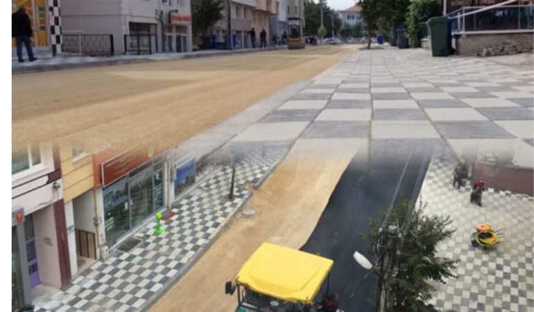 Bolu Belediyesi asfaltta rekor kırmaya devam ediyor