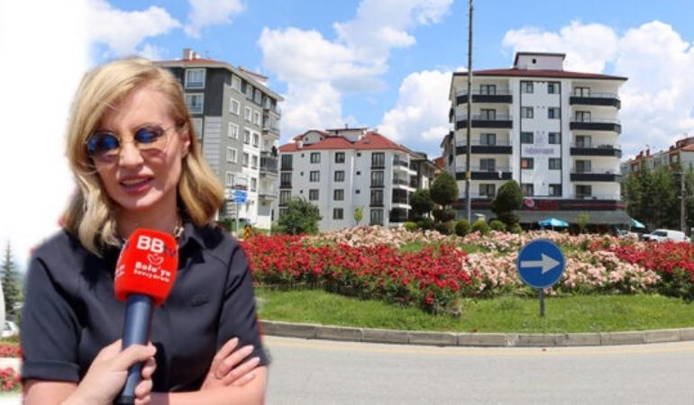 Bolu Belediyesi şehri güller ve lavantalarla donattı