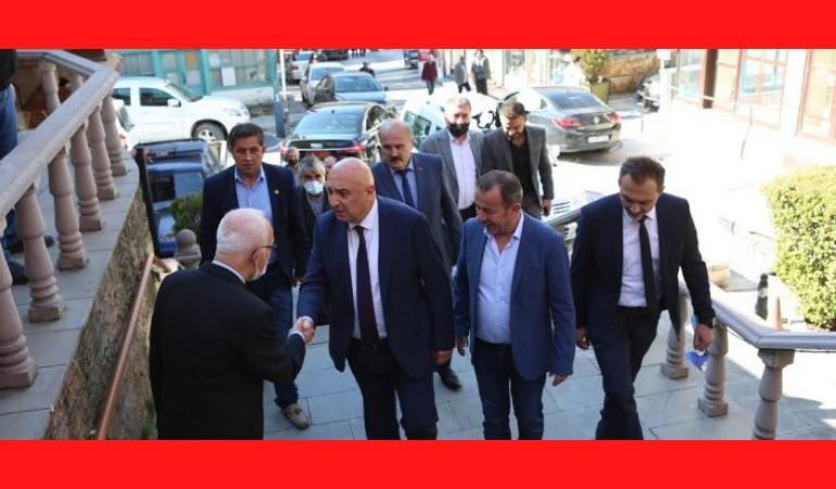 CHP Grup Başkanvekili Özkoç temaslarda bulundu