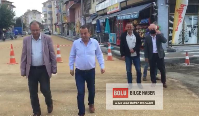 Tanju Özcan'dan Dörtdivan'a sürpriz ziyaret