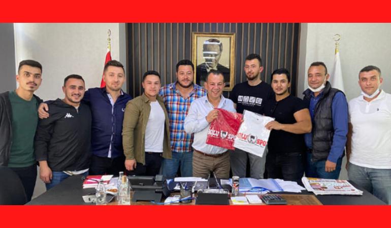 Yarenler Grubu'ndan Başkan Özcan'a teşekkür
