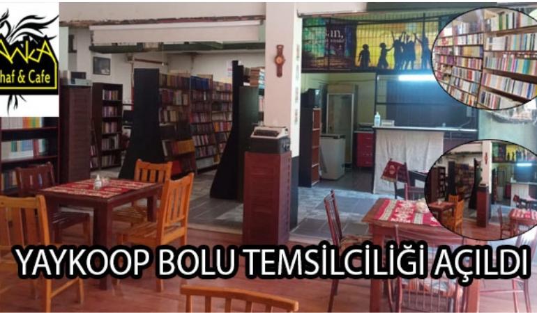 YAYKOOP'un Bolu temsilciliği kitapseverlerle buluşmaya hazır