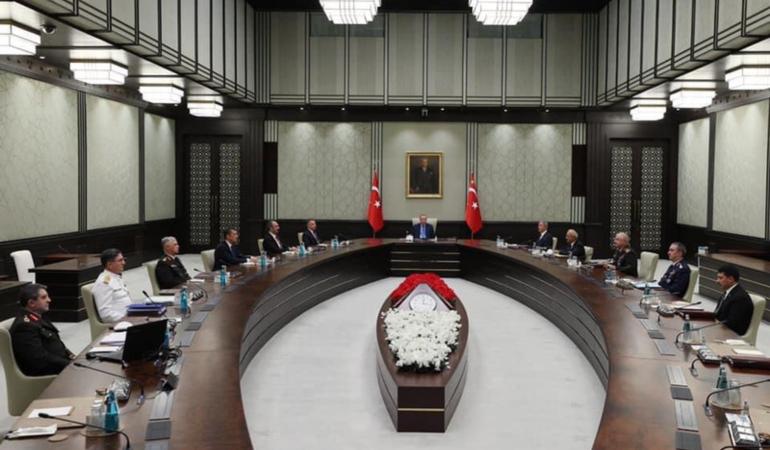 Yüksek Askeri Şura, Cumhurbaşkanı Erdoğan başkanlığında toplandı